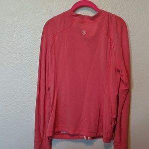 Lululemon large pink zip jacket